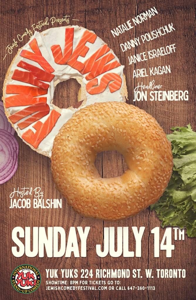 Toronto Jewish Comedy Festival Presents: Funny Jews